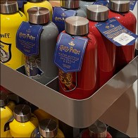 Harry-Potter Water-Bottle Divided Shelves