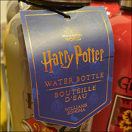 Harry-Potter Water-Bottle Branding Tags