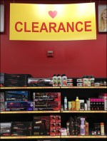 Sally Beauty Supplies Clearance Department