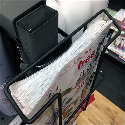 Sally Beauty Supplies Flyer Literature-Holder