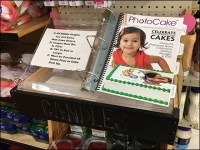 Three-Ring-Binder Birthday Cake Catalog
