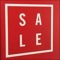 Entry-Sign Sale Scramble Challenge