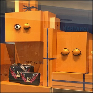 Eyeballing Louis Vuitton Window Dressing