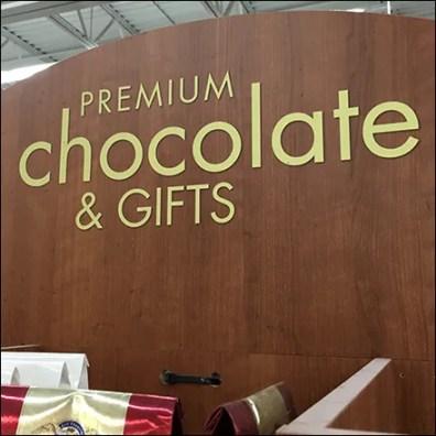 Famous-Name Premium Chocolate Endcap