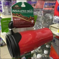 Insulated Mug Strip Merchandiser
