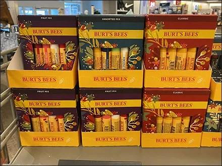 Burts-Bees Festive-Flavors Lip-Balm DisplayBurts-Bees Festive-Flavors Lip-Balm Display