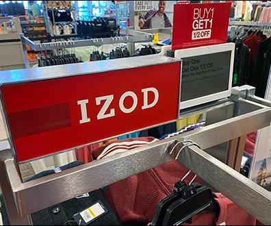 Izod Apparel Faceout Extender