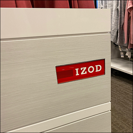 Izod Branded Sidewall Outfitting