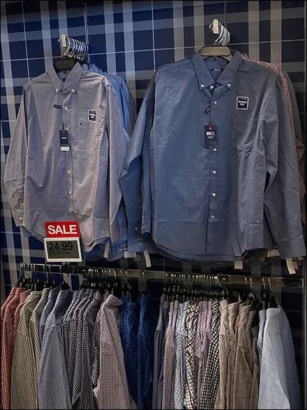 Izod Everyday Shirt Hang-Tag Branding