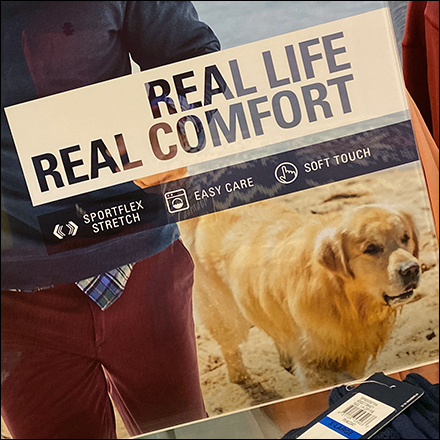 Izod Real-Life-Comfort Lifestyle Sell