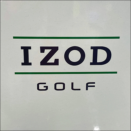 Izod Swing-Flex Golf Slacks Display