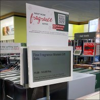 Kohls Table-Upright Digital-Price-Ticket Holder
