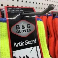 Work-Glove Ball-End Display Hooks