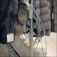 Giant Fur Sale Security Setup