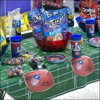 Party City Super-Bowl Place Settings
