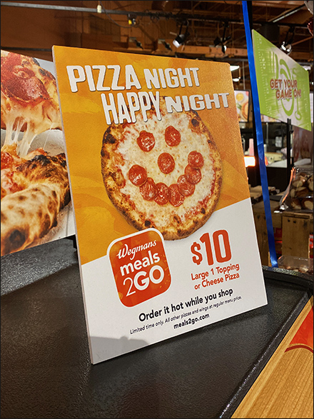 Pizza-Night Happy-Night Countertop Sign