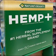 Natures-Bounty Hemp Skinny Tower Display