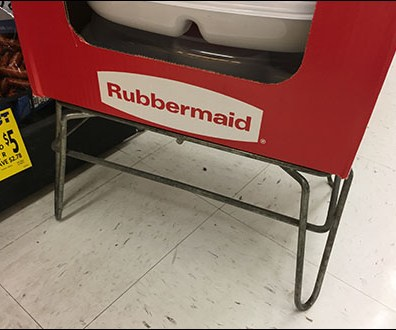 Rubbermaid Party-Platter Dunnage Rack