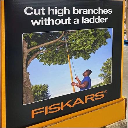 Forest of Fiskars Branch Trimmer Display