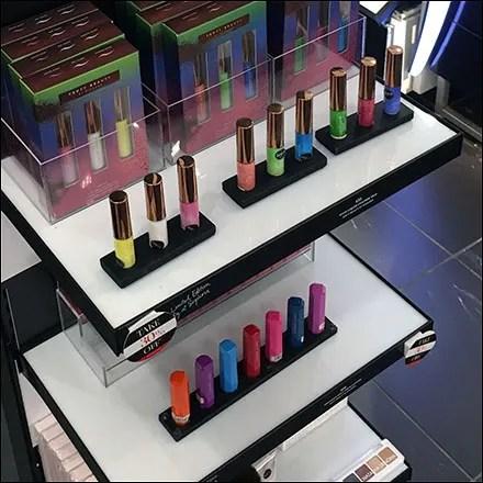 Colorful Rihanna Shelf-Edge Lipstick Lineups