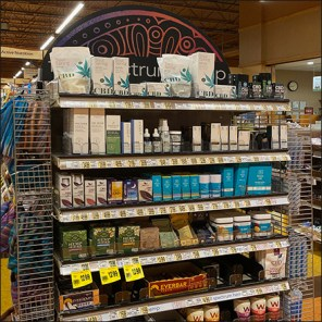 Hemp-CBD Endcap Merchandising Twins