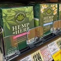 CBD Hemp+Herb Color-Coded Merchandising