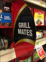 McCormick Grill-Mates Gravity-Feed Promo-FlagMcCormick Grill-Mates Gravity-Feed Promo-Flag