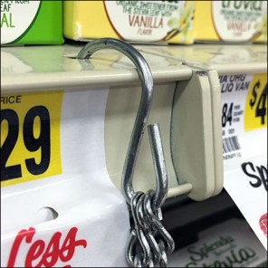 Shelf-Edge Hanging Spice Basket
