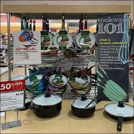 Healthy-Living Colorful Ceramic Skillet Sale