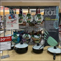Healthy-Living Colorful Ceramic Skillet Sale