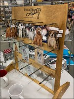 Puppy Primitives-by-Kathy Wood Display