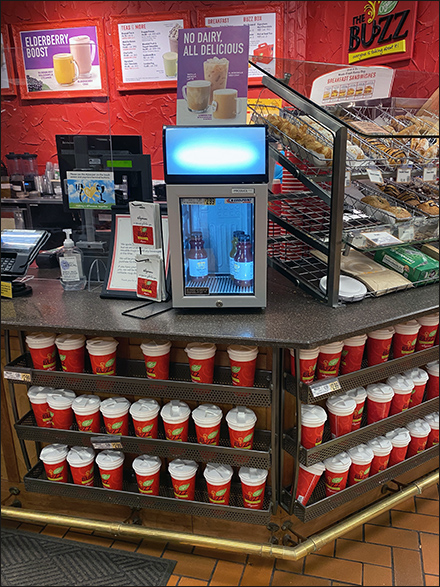 Coffee-Bar Grab-And-Go Juice Cooler