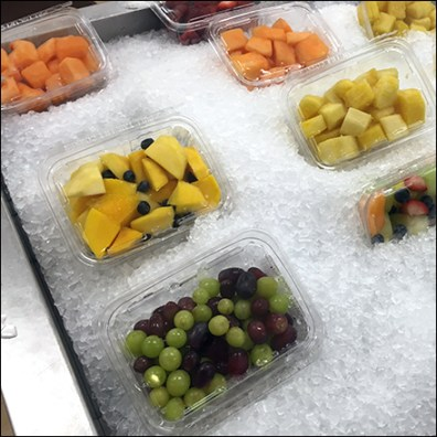 Iced Fresh Fruit Assortment Island