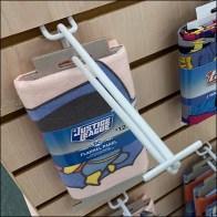 Half-Size Endcap Slatwall Flip-Front Scan-Hooks