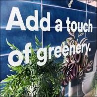 Add-Greenery Gondola Upright Sign