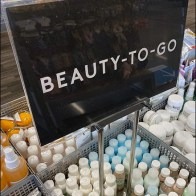 Nordstrom-Rack Beauty-To-Go Twin-Upright Sign Stand