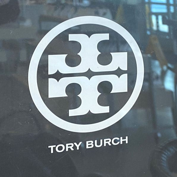 Tory-Burch Twin-Upright Table-Top Sign StandTory-Burch Twin-Upright Table-Top Sign Stand