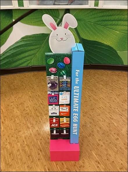 Ultimate Egg Hunt Tower Display