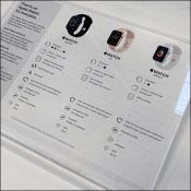 Apple-Watch Feature Comparison Acrylic Display