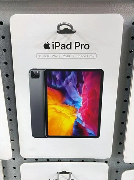 iPad-Pro Pick-Card Loop Hook