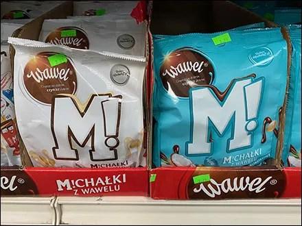 M!chalki Corrugated Shelf Merchandising Trays
