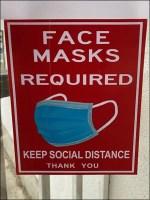 Ethnic Polish Face Mask Warning