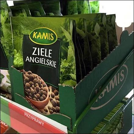 Kamis Ethnic Spice Packet Merchandising