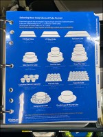 Cake Size and Format Specifications