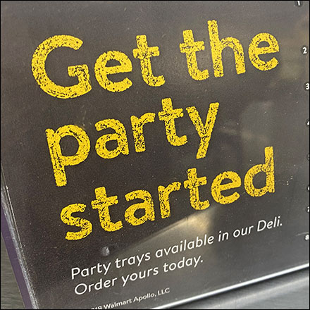 Get-The-Party-Started Deli Cross-Sell