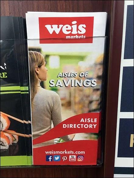 Aisle Directory Navigation-Aid Brochure