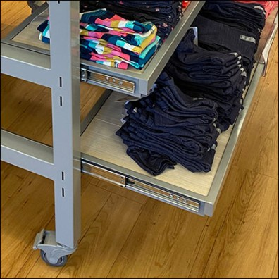 Made-To-Match Instant Pull-Out Shelves