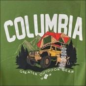 Columbia Greater-Outdoor-Gear T-Shirt Branding