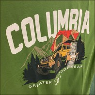 Columbia Greater-Outdoor-Gear T-Shirt Branding
