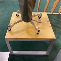 Columbia Plywood-Top Mannequin Pedestal